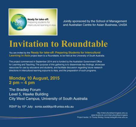 Invitation to Roundtable